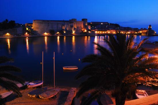 Hotel Boramar : Collioure dawn from room