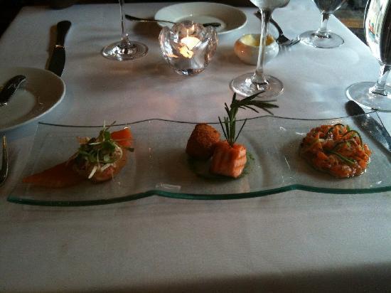 Le Patriarche : My Salmon trio