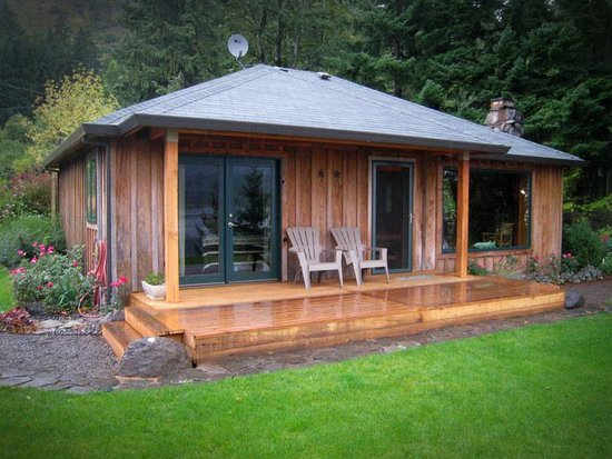 Skamania Coves Resort: newly remodeled cabins