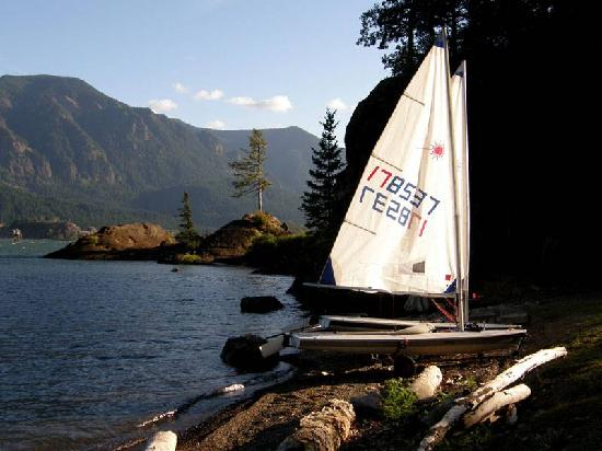 ‪‪Skamania Coves Resort‬: Beautiful river front coves‬