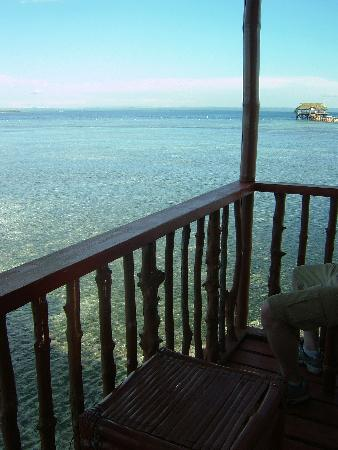 Nalusuan Island Resort: View from balcony