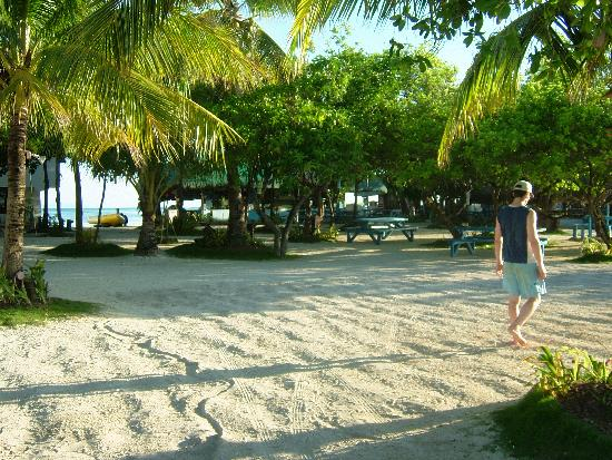 Nalusuan Island Resort: The inner island