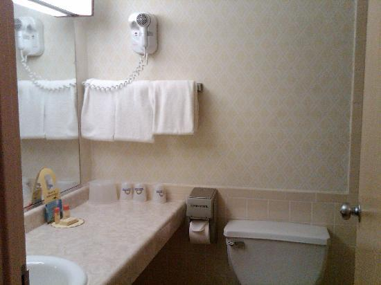 Days Inn of Liberty: Bathroom
