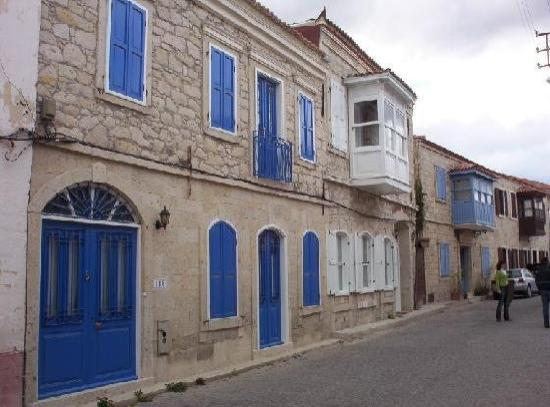 Traditional Alacati homes