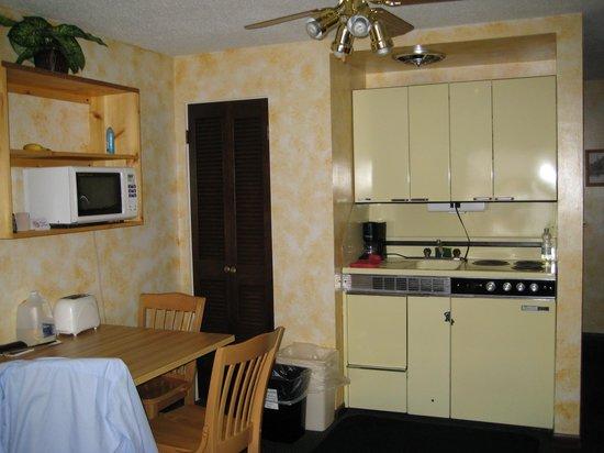 Tyrolean Lodge: Küchenzeile