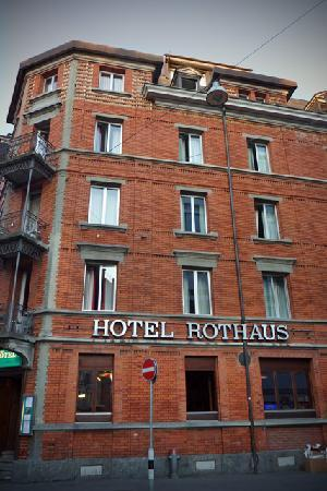 Hotel Rothaus: Front of hotel