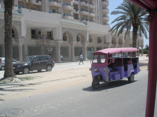 IBEROSTAR Royal El Mansour & Thalasso : UN TIPO DE TAXI QUE HAY