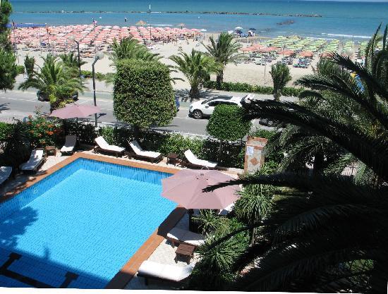 Hotel Corallo: Balcone vista mare