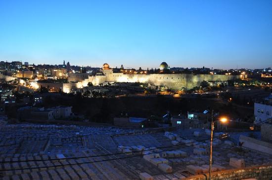 Jerusalem Panorama Hotel: Zimmerblick