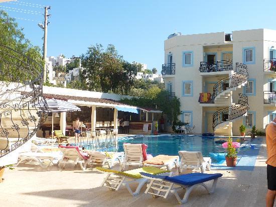 Merve Apartments: Merve aprtments and pool