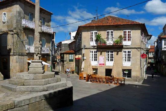 Pontevedra, Spanien: Plaza 5 Calles