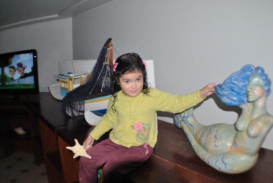 Pousada Aquarium: minha princesinha