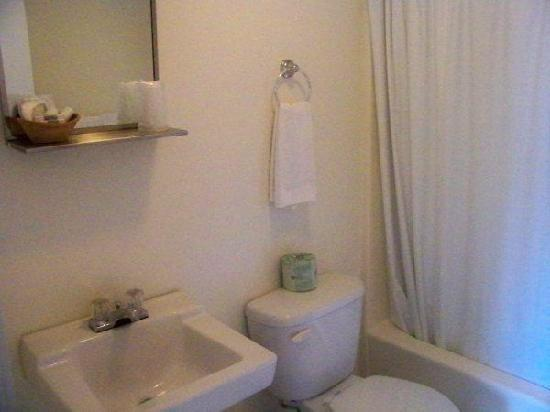 Mount Whittier Motel: Bathroom