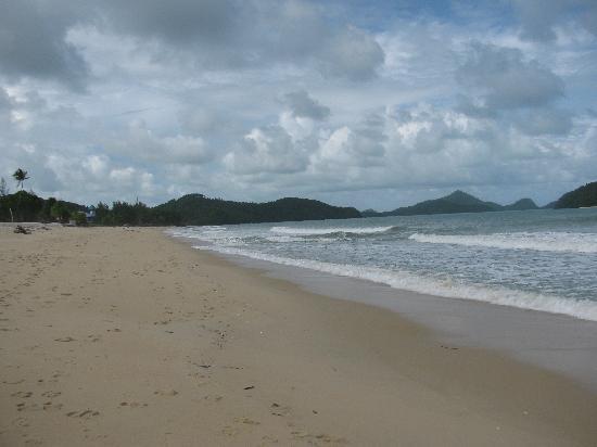 The beach at Sunset Beach Resort