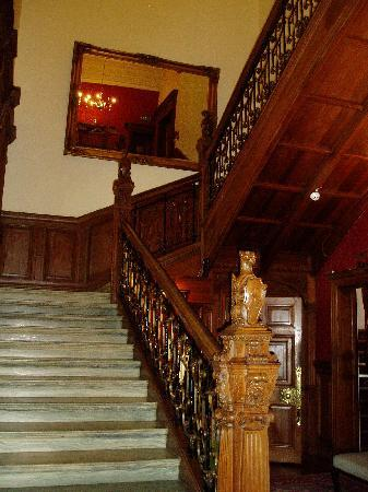 B+B Edinburgh: The central staircase