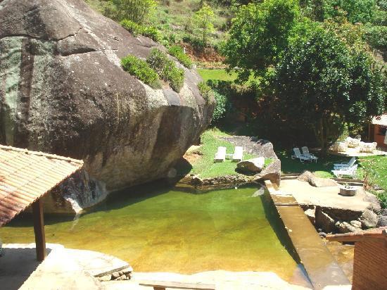 Piscina natural natural pool foto de pousada paraiso for Piscina natural de riosequillo