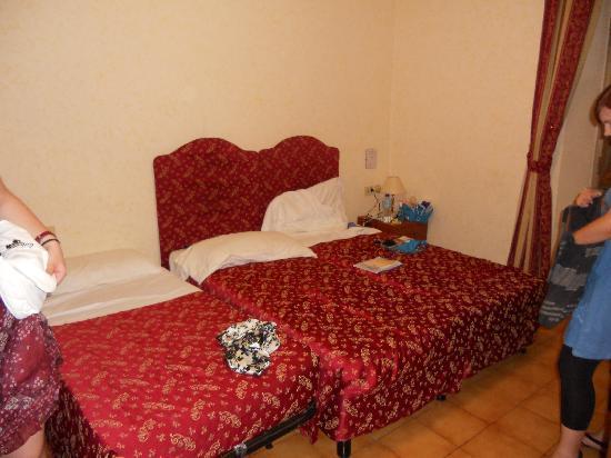 Hotel Stromboli: our room