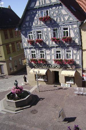 Hotel Schillerhof: view from the window