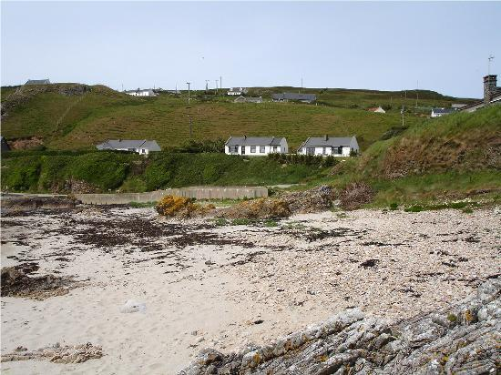 Sandrock Holiday Hostel: view from the beach