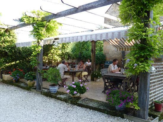 Saint-Cyprien, France: its cosy terras were we enjoyed very pleasant meals and moments