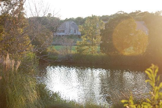 Seabrook Island Resort: View from our house over the lagoon