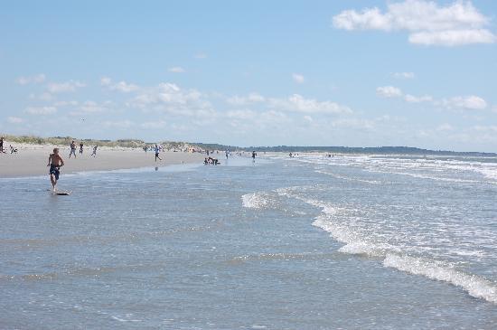 Seabrook Island Resort Great Wide Beach Just Watch High Tide