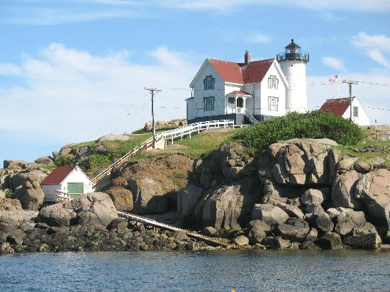 ‪‪Finestkind Scenic Cruises‬: Nubble Light as seen from boat‬