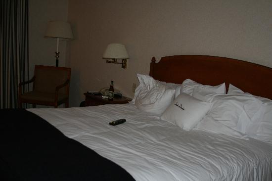 DoubleTree Club by Hilton Hotel Boston Bayside : geräumiges Zimmer - gut klimatisiert