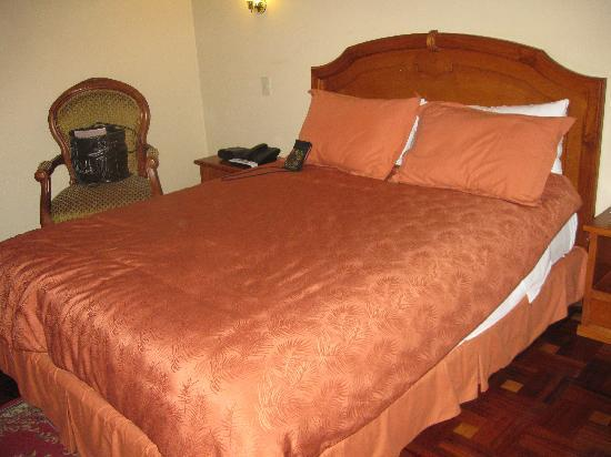 Hotel Boutique Plaza Sucre : bed
