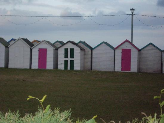 Colin House: Beautifully coloured beach huts