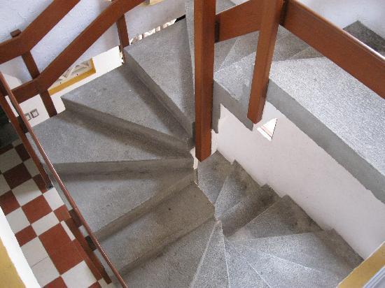 Hotel Playa Veracruz: Hotel Stairs