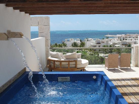 Excellence Playa Mujeres : Rooftop terrace
