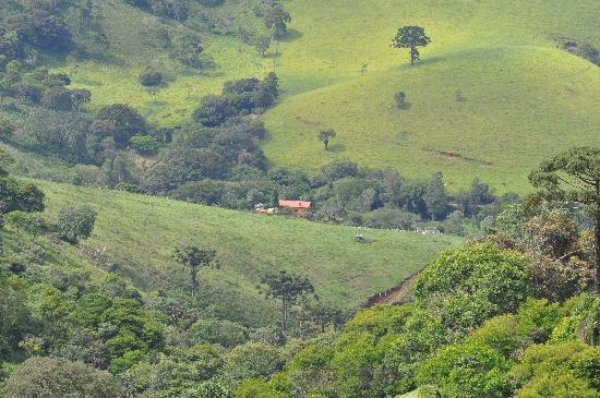 Sapucai-Mirim: at the mountain