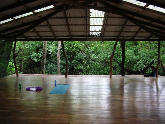 Santa Teresa, Costa Rica: Yoga studio in nature