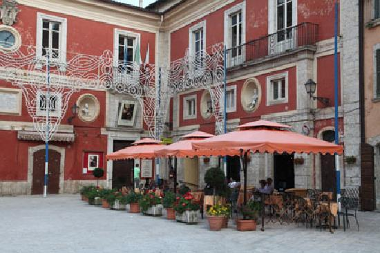 The main square in Arpino