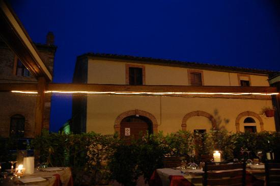 La Locanda del Castello: View from our table