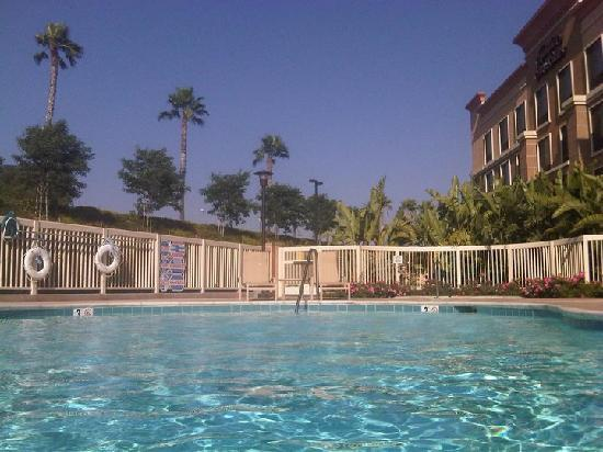 Pool at Hampton Inn Moreno Valley--Best Attribute of Hotel!