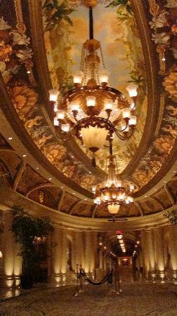 The Venetian Las Vegas: Venetian corridoio
