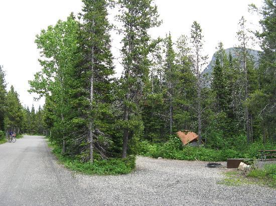 Another view of Many Glacier Campground