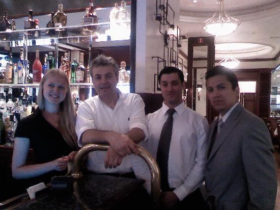Serra Mediterranean Bistro : Our lovely wait staff