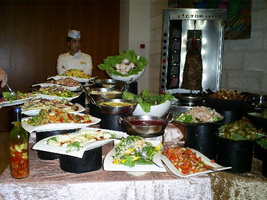 Grand Court Hotel: buffet