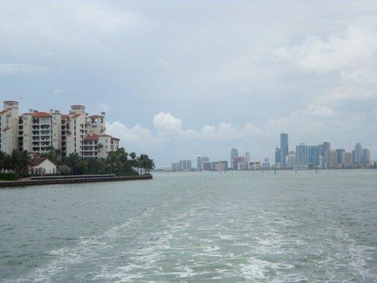 15.-Miami Beach: crucero- propiedades en Fisher Island