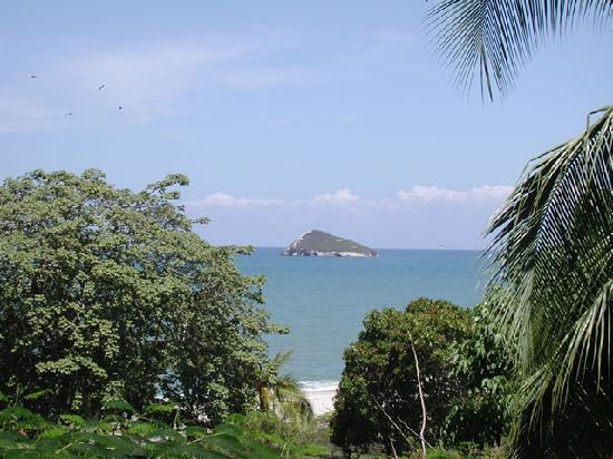 Las Sirenas: view