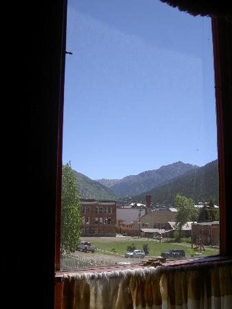 The Animas B&B at the Wingate House: View from our room window