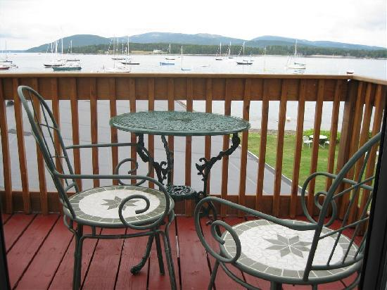 The Moorings Inn Waterfront: View from deck