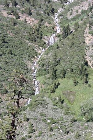 Mineral King Road: On the hike up to the lake region