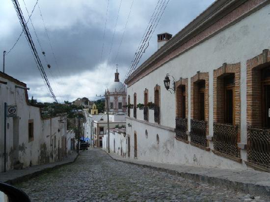 Mineral de Pozos, Mexique : pueblo