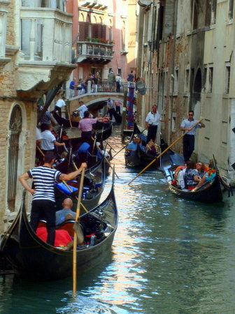 Venedig, Italien: one of the canals