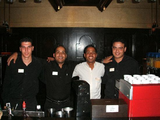 Jaz Lamaya Resort: Lobby bar stars