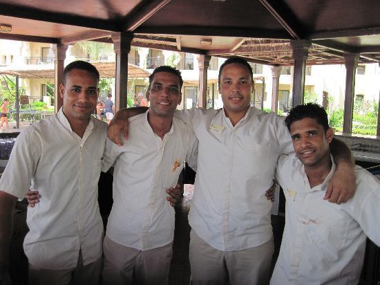 Jaz Lamaya Resort: Pool bar stars